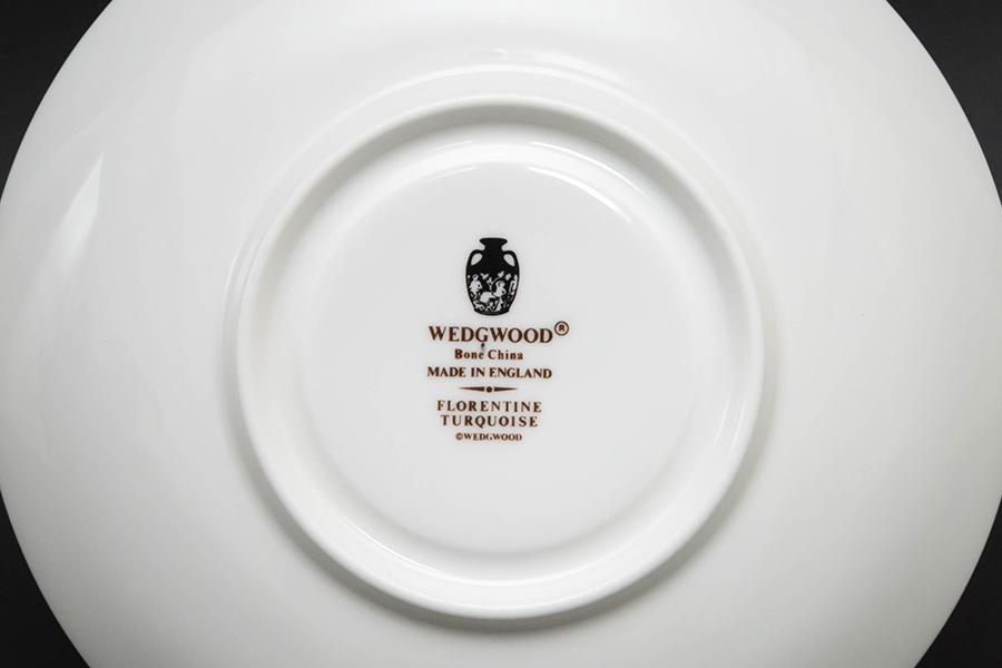 ウェッジウッド フロレンティーンターコイズ ティーカップ&ソーサー(リー)