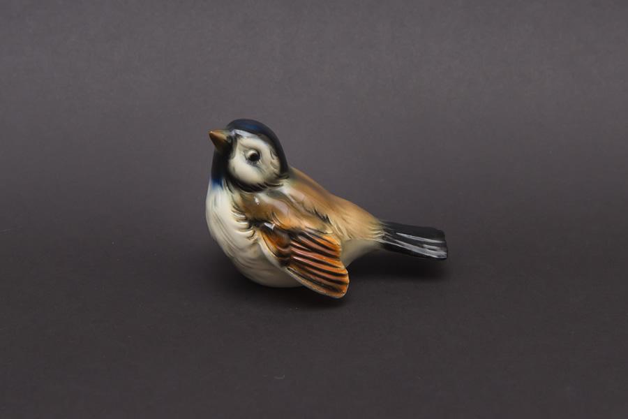 ゲーベル フィギュリン 小鳥