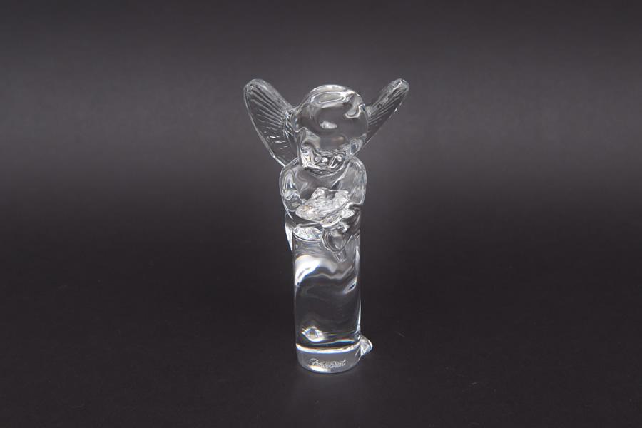 バカラ アンジェロ ブーケ(花束を持った天使)