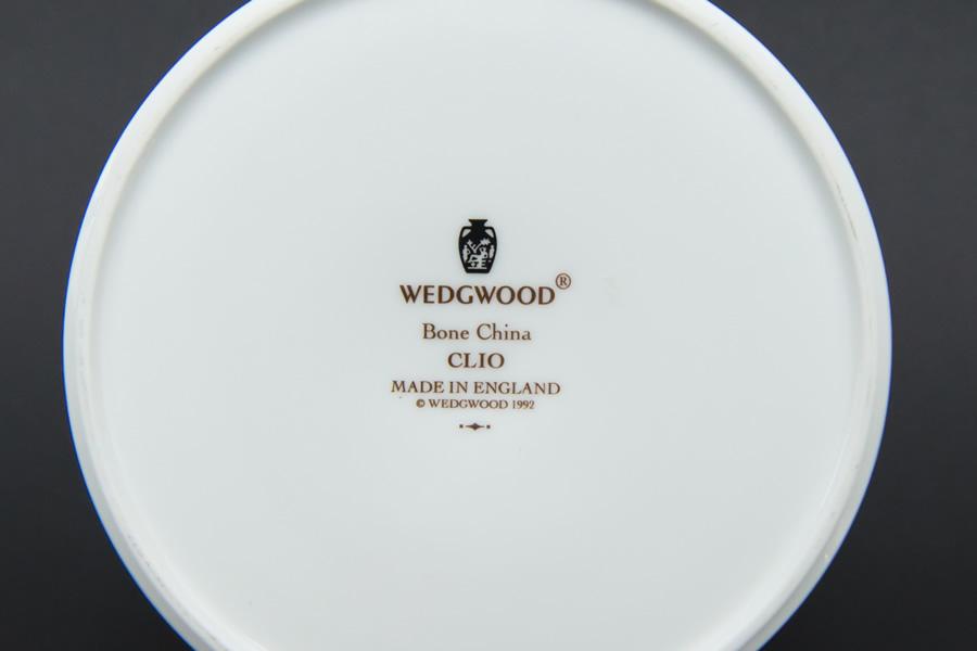 ウェッジウッド クリオ フルリムボーダー ラウンドボックス