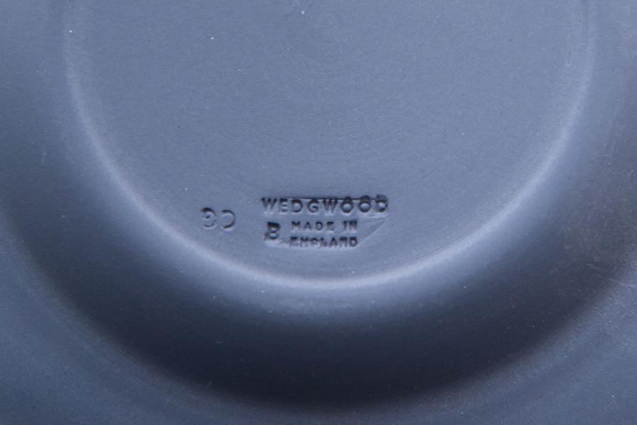 ウェッジウッド ジャスパー(ネイビー) 12cmラウンドトレイ