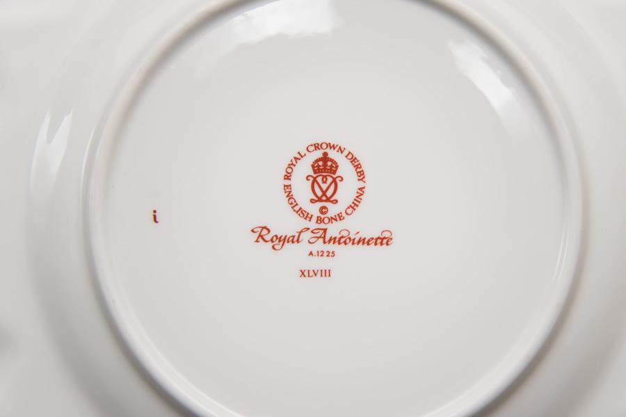 ロイヤル・クラウン・ダービー ロイヤルアントワネット 20cmプレート