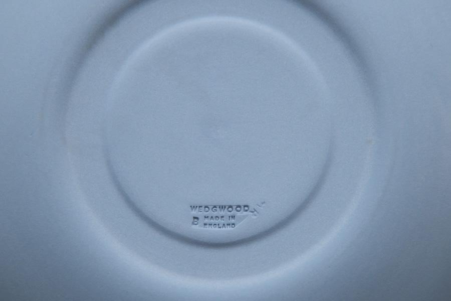 ウェッジウッド ジャスパー ティーカップ&ソーサー(ペールブルー )