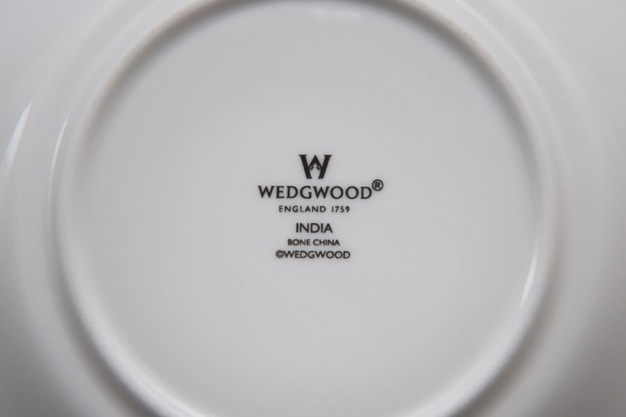 ウェッジウッド インディア ティーカップ&ソーサー(デルフィ)