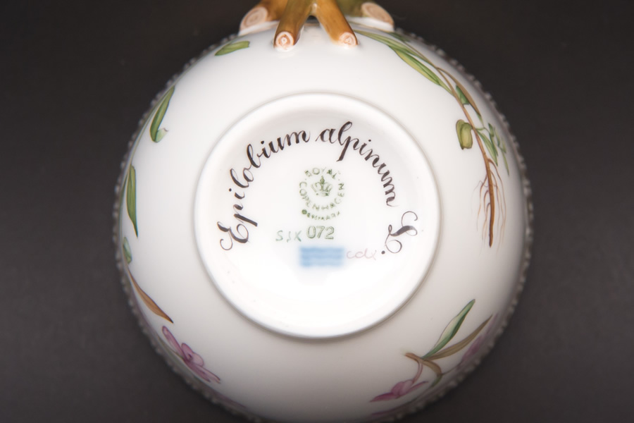 ロイヤル・コペンハーゲン フローラダニカ カップ&ソーサー(Epilobium Alpinum L)