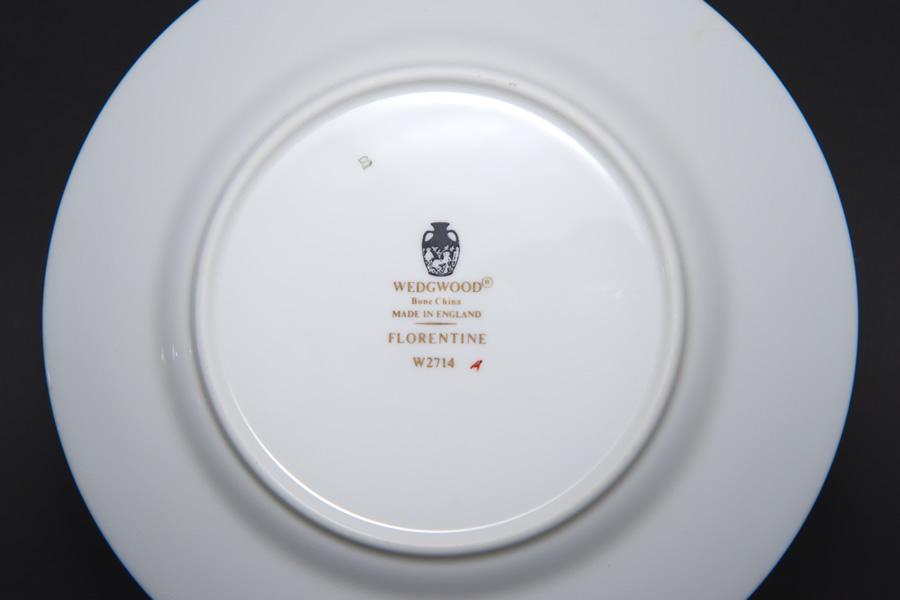 ウェッジウッド フロレンティーンターコイズ 15cmプレート