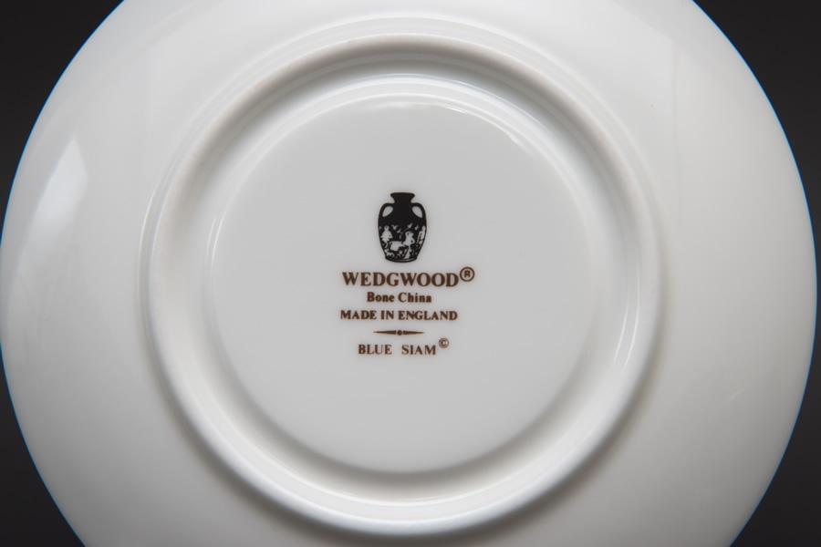 ウェッジウッド ブルーサイアム デミタスカップ&ソーサー