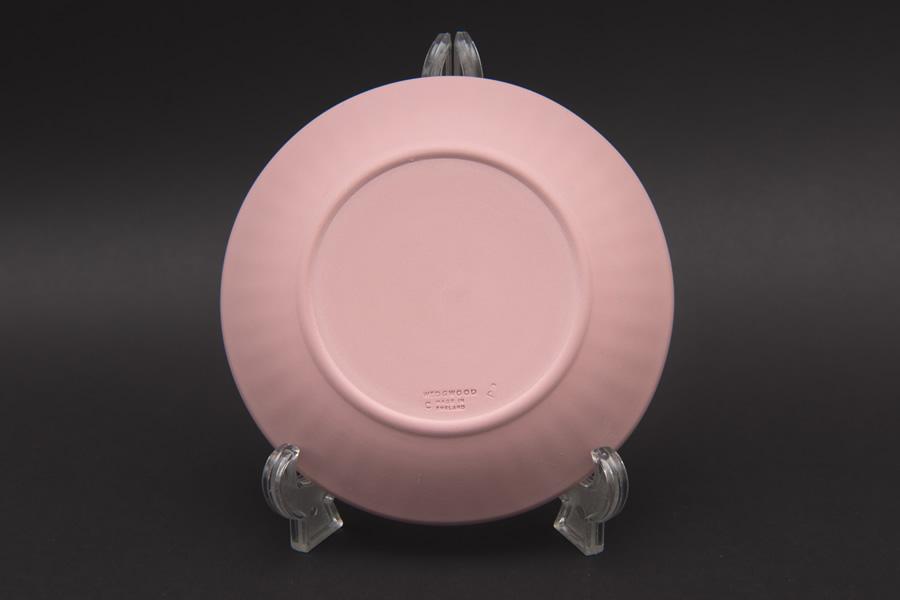 ウェッジウッド ジャスパー 12cmラウンドトレイ ペア(ペールブルー&ピンク)