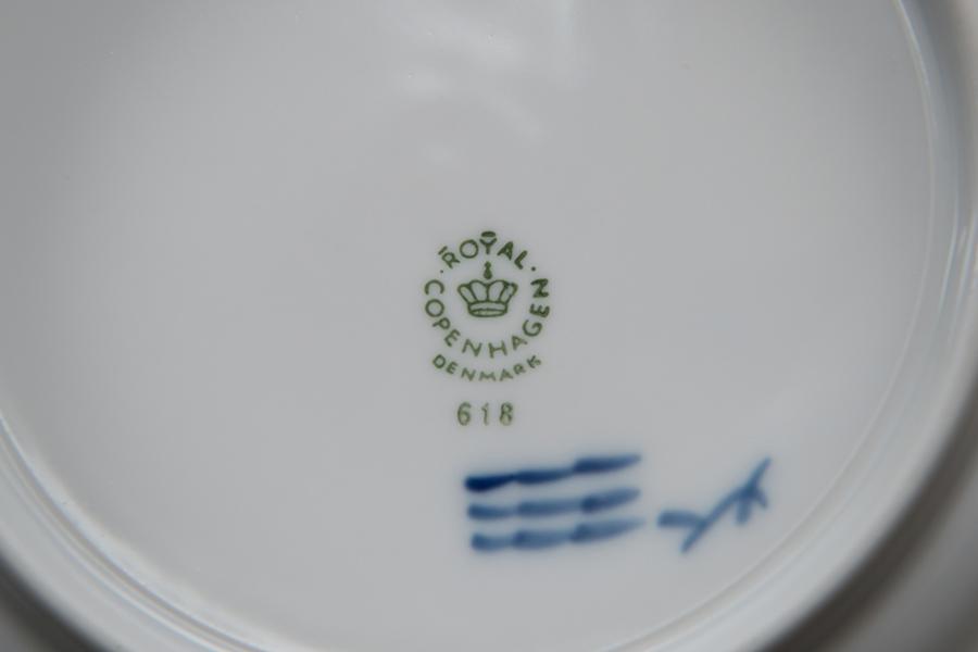 ロイヤル・コペンハーゲン ブルーフラワーカーブ 17cmプレート