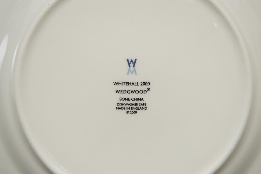ウェッジウッド ホワイトホール2000(ダークブルー) 21cmプレート