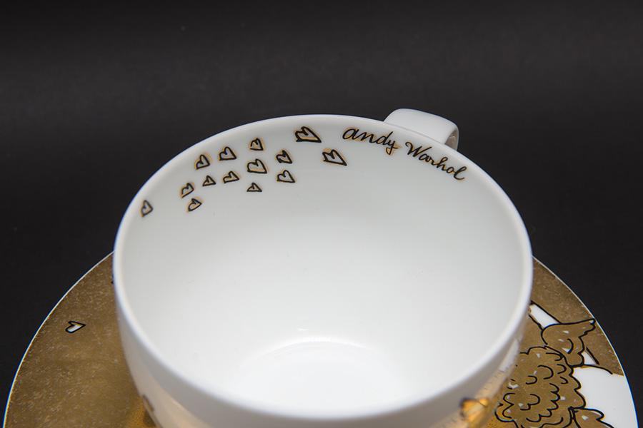 ローゼンタール × アンディー・ウォーホル ゴールデンエンジェル カップ&ソーサー