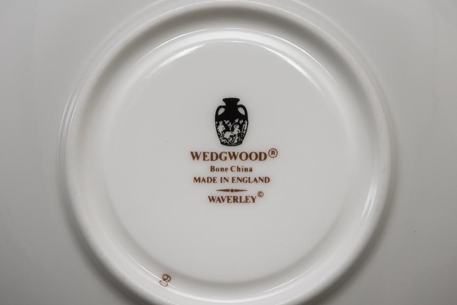 ウェッジウッド ウェーバリー ティーカップ&ソーサー(リー)