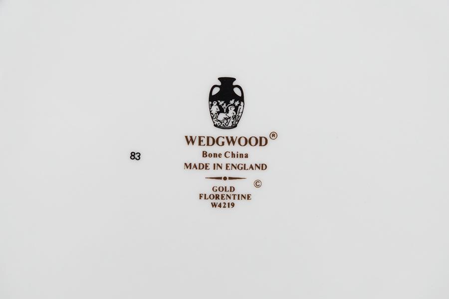 ウェッジウッド フロレンティーンゴールド 27cmプレート