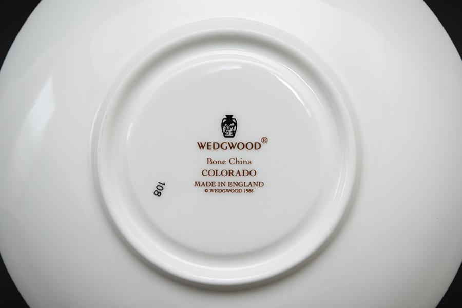 ウェッジウッド コロラド ティーカップ&ソーサー(ピオニー)
