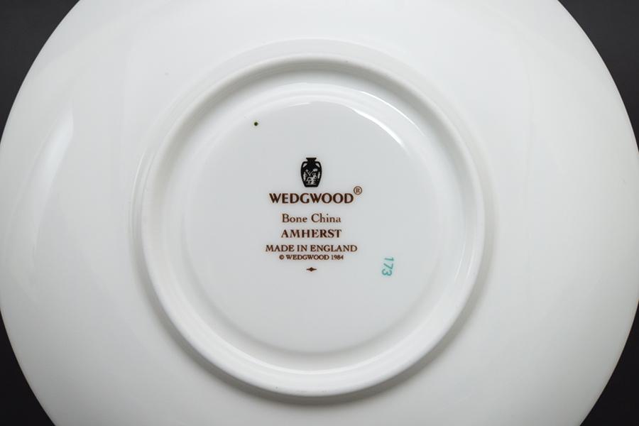 ウェッジウッド アムハースト ティーカップ&ソーサー(ピオニー)