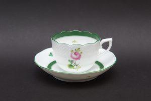 ヘレンド ウィーンの薔薇 デミタスカップ&ソーサー