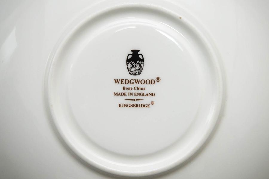 ウェッジウッド キングスブリッジ ティーカップ&ソーサー(ピオニー)