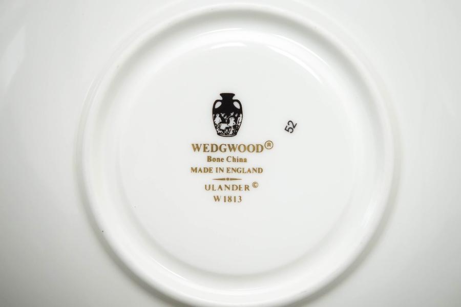 ウェッジウッド ユーランダーパウダールビー ティーカップ&ソーサー(リー)