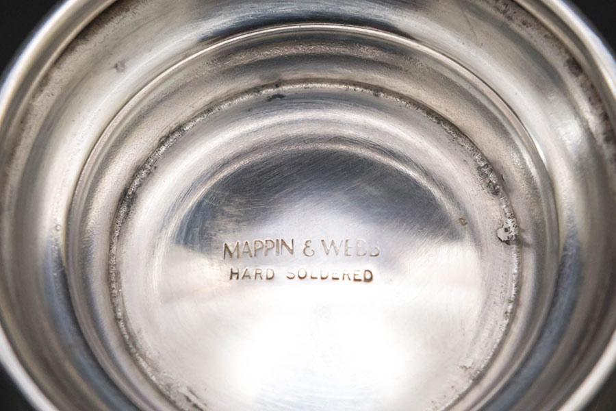 マッピン&ウェッブ シルバープレート マグ