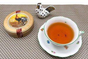 『幸鶏好好』で紅茶はじめ