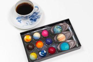 フーシェの惑星チョコとカルディのチョコレート用コーヒー