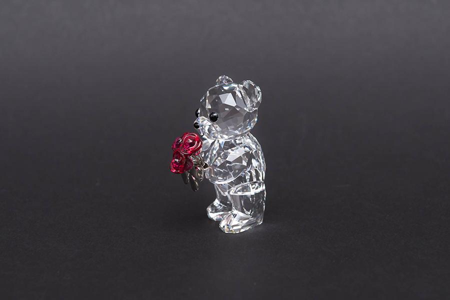 スワロフスキー クリスベア「Red Roses For You」