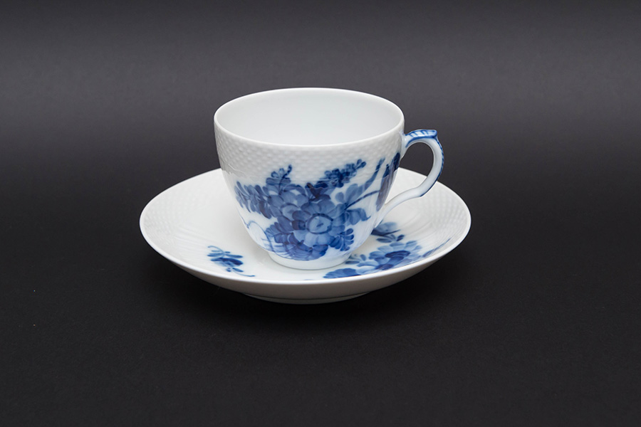 ロイヤル・コペンハーゲン ブルーフラワーカーブ コーヒーカップ&ソーサー