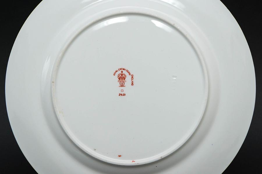ロイヤル・クラウン・ダービー トラディショナル・イマリ 18cmプレート