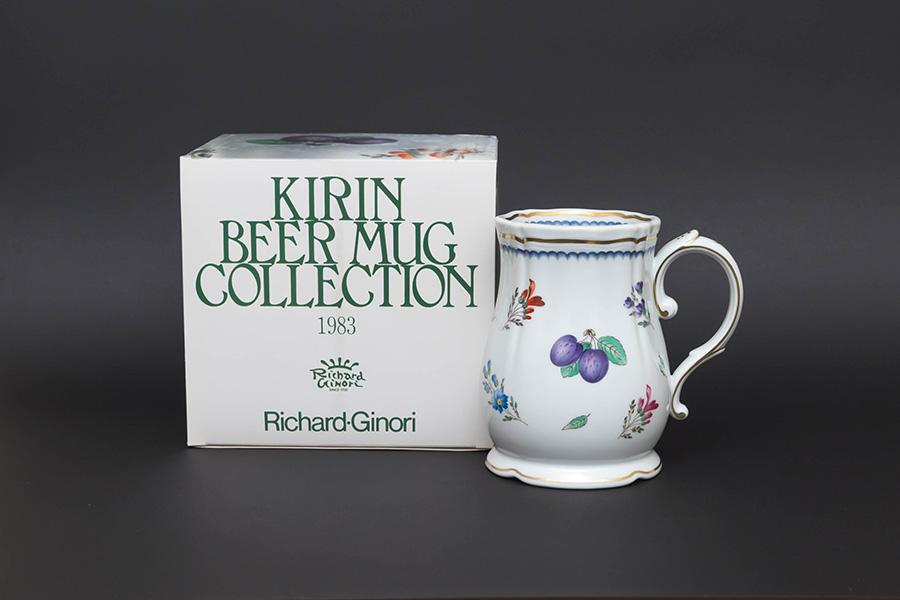 キリンビヤマグコレクション(1983年)リチャード・ジノリ(イタリアンフルーツ)