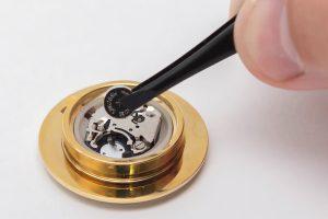 ウェッジウッドの置時計の電池交換