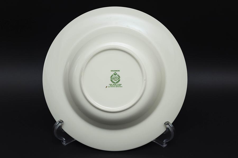 ミントン グラスミア スーププレート