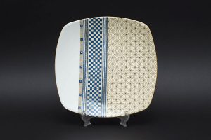 ウェッジウッド サムライ スクエアプレート(四角皿)