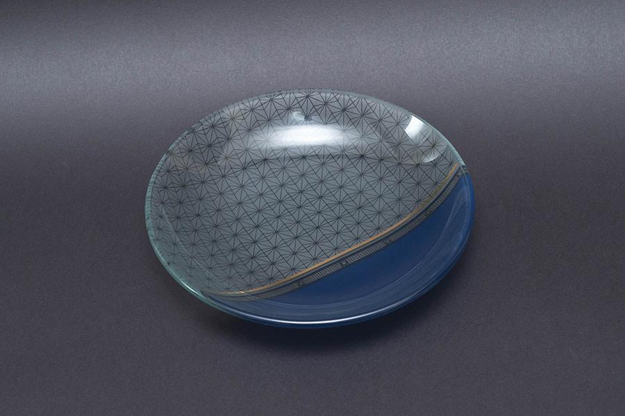 ウェッジウッド サムライ ガラスプレート