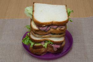 漢(おとこ)のサンドイッチ