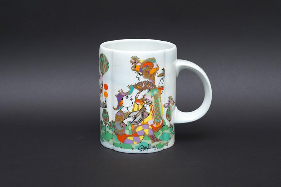 キリンビヤマグコレクション(1984年)ローゼンタール(コメディ・デル・アルテ)
