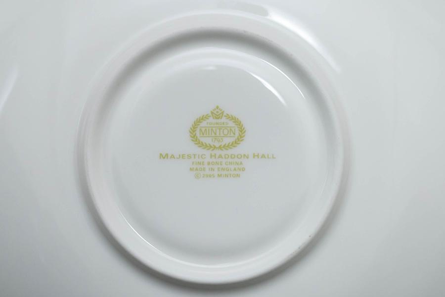 ミントン マジェスティックハドンホール ティーカップ&ソーサー