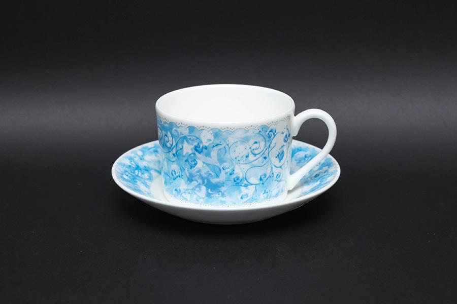 ウェッジウッド ディズニー・プリンセス(リトル・マーメイド) ティーカップ&ソーサー