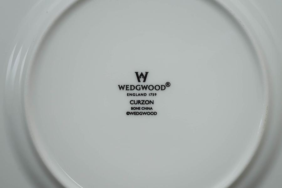 ウェッジウッド カーゾン 17cmプレート