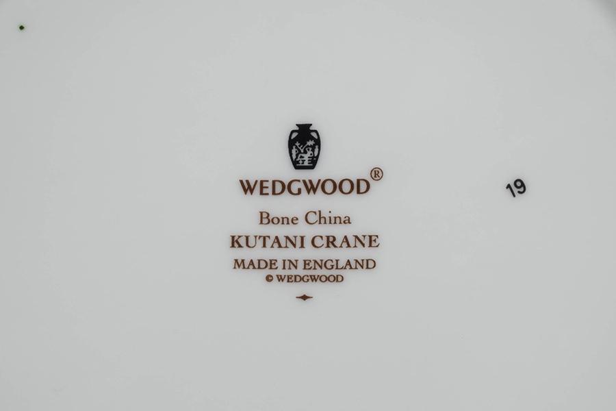 ウェッジウッド クタニクレーン スーププレート