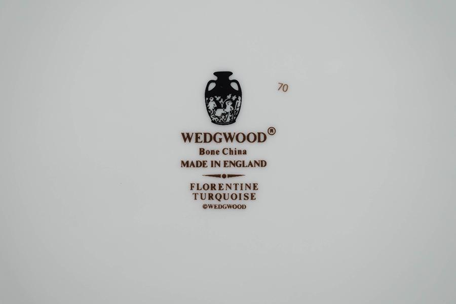 ウェッジウッド フロレンティーンターコイズ 27cmプレート