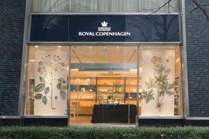 ロイヤル・コペンハーゲンの日本展開50周年記念特別展に行ってきた