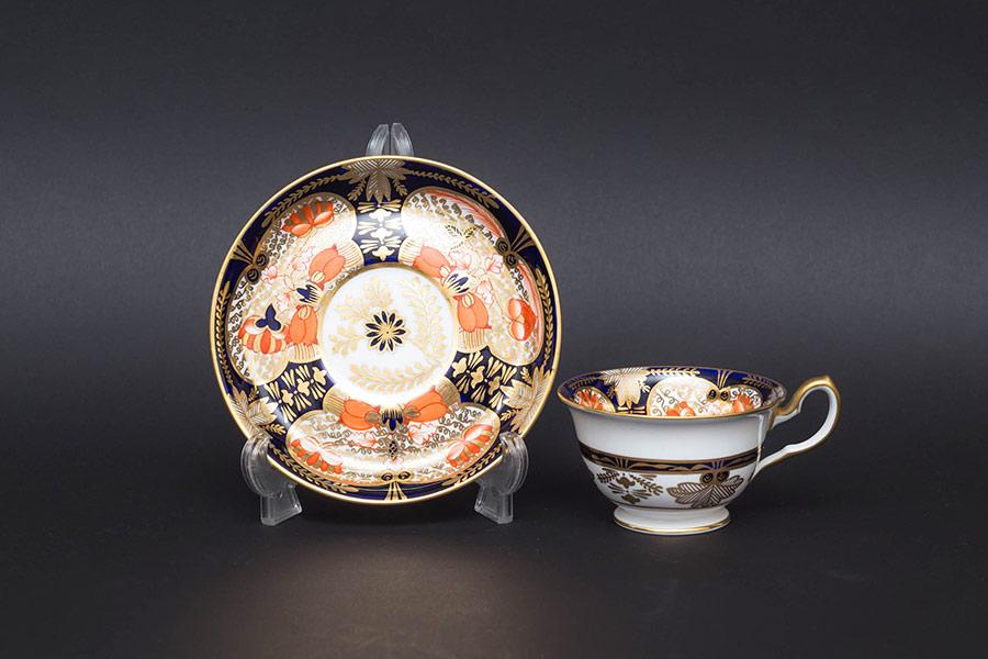ロイヤル・クラウン・ダービー オールドイマリ(1906年) デミタスカップ&ソーサー