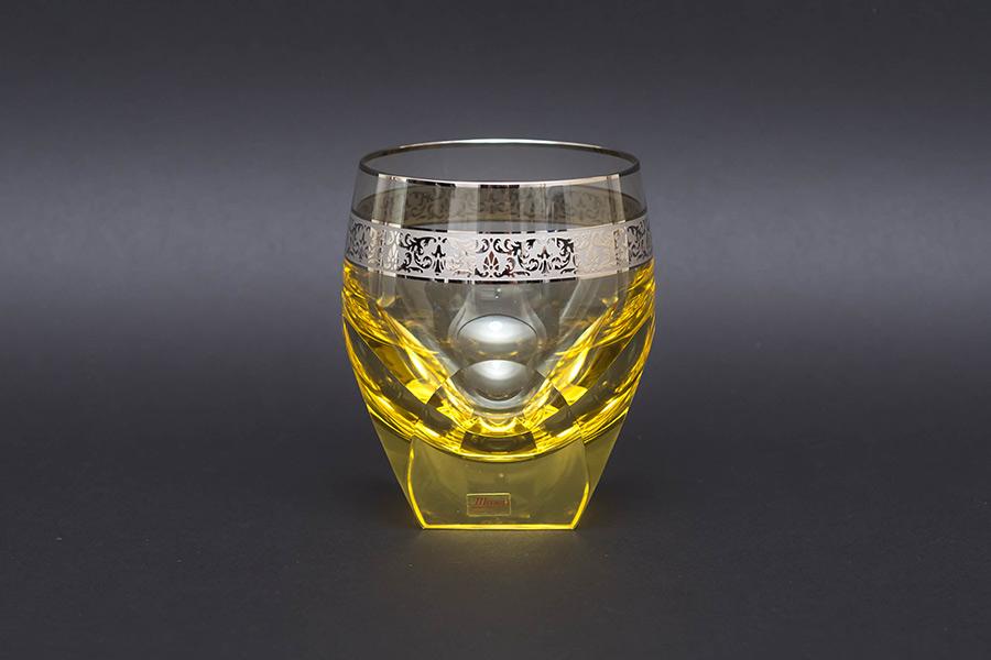 モーゼル バー(プラチナ)オールドファッショングラス(エルダー)