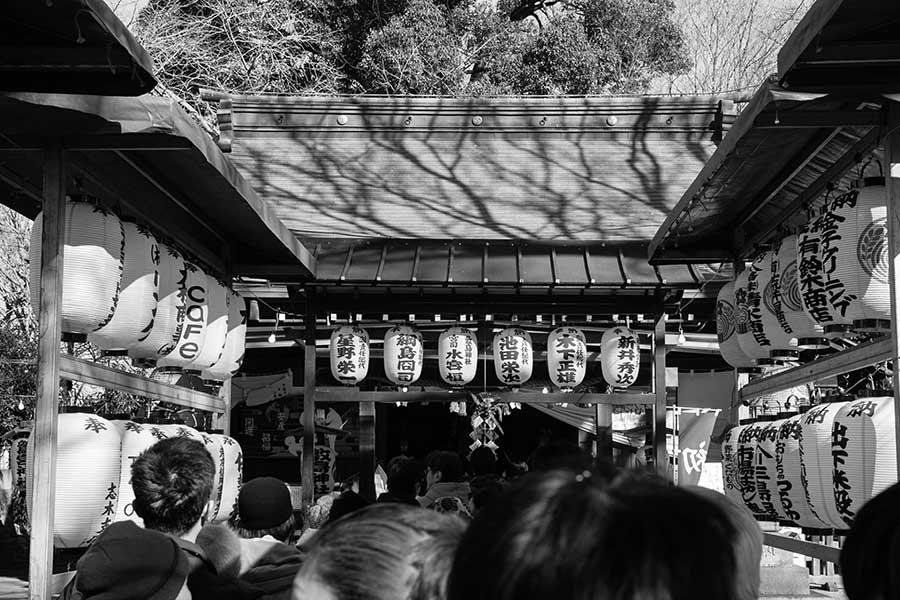 敷島神社に初詣(2018年)