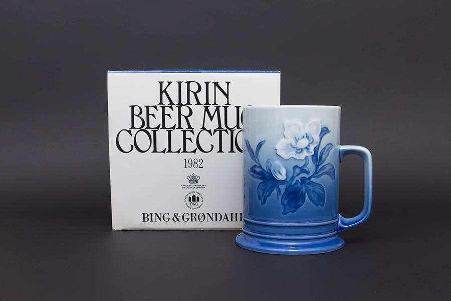 キリンビアマグコレクション(1982年)ビング・オー・グレンダール(クリスマス・ローズ)