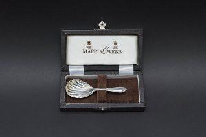 マッピン&ウェッブ シェル型キャディースプーン(スターリングシルバー)