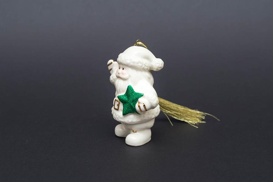 レノックス クリスマスオーナメント 『Santa's Starry Greetings』