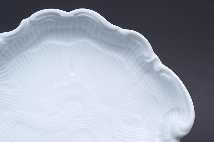リチャード・ジノリ ベッキオホワイト シェルディッシュ(Sサイズ)