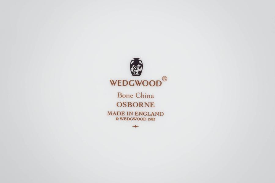 ウェッジウッド オズボーン 23cmプレート