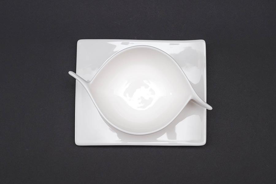 ビレロイ&ボッホ ニューウェイブ スープカップ&プレート